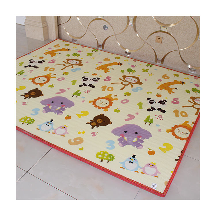Play Double Sides Foam Kids Waterproof Carpet Baby Epe Mat for sale