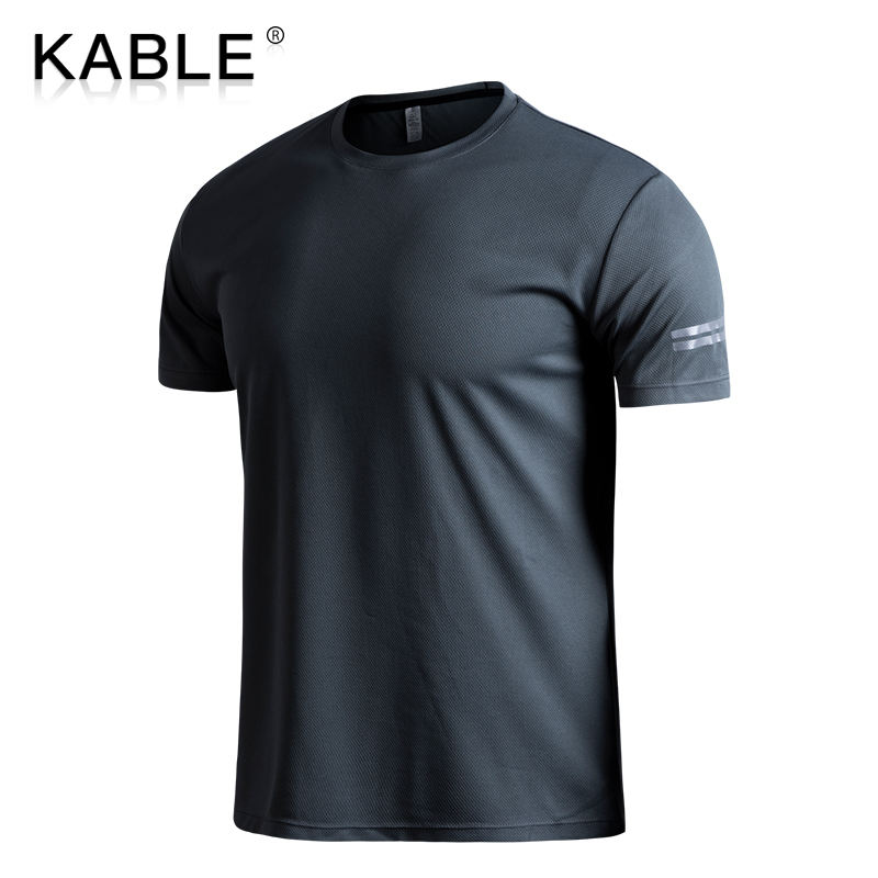 Custom Sports T Shirt Gym Men Running Fitness c Printing Summer Casual Clothes