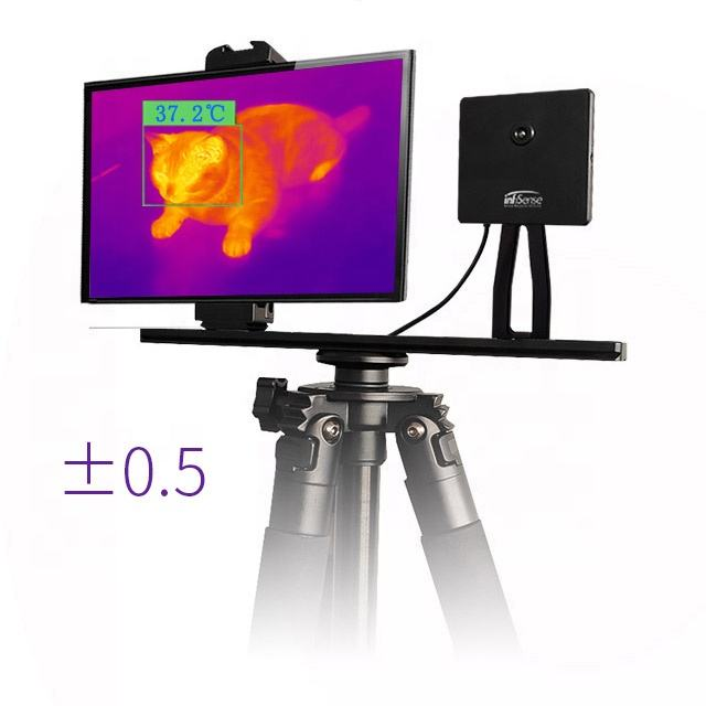 stations airport subway Quick install compact thermal imaging, thermographic camera, fever screening
