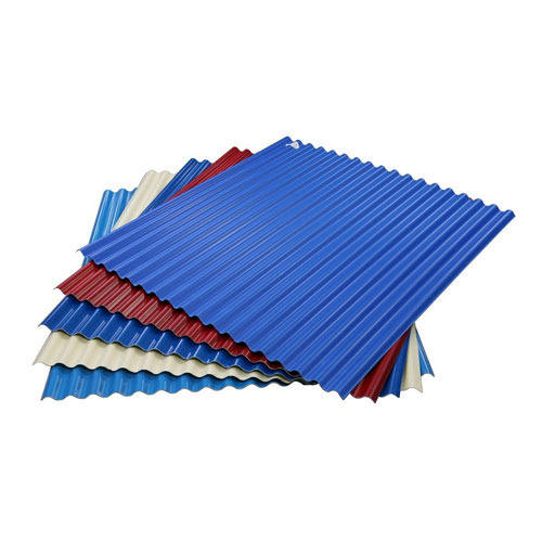 High Quality Waterproof Materials UPVC / PVC Trapezoidal Roof Tiles