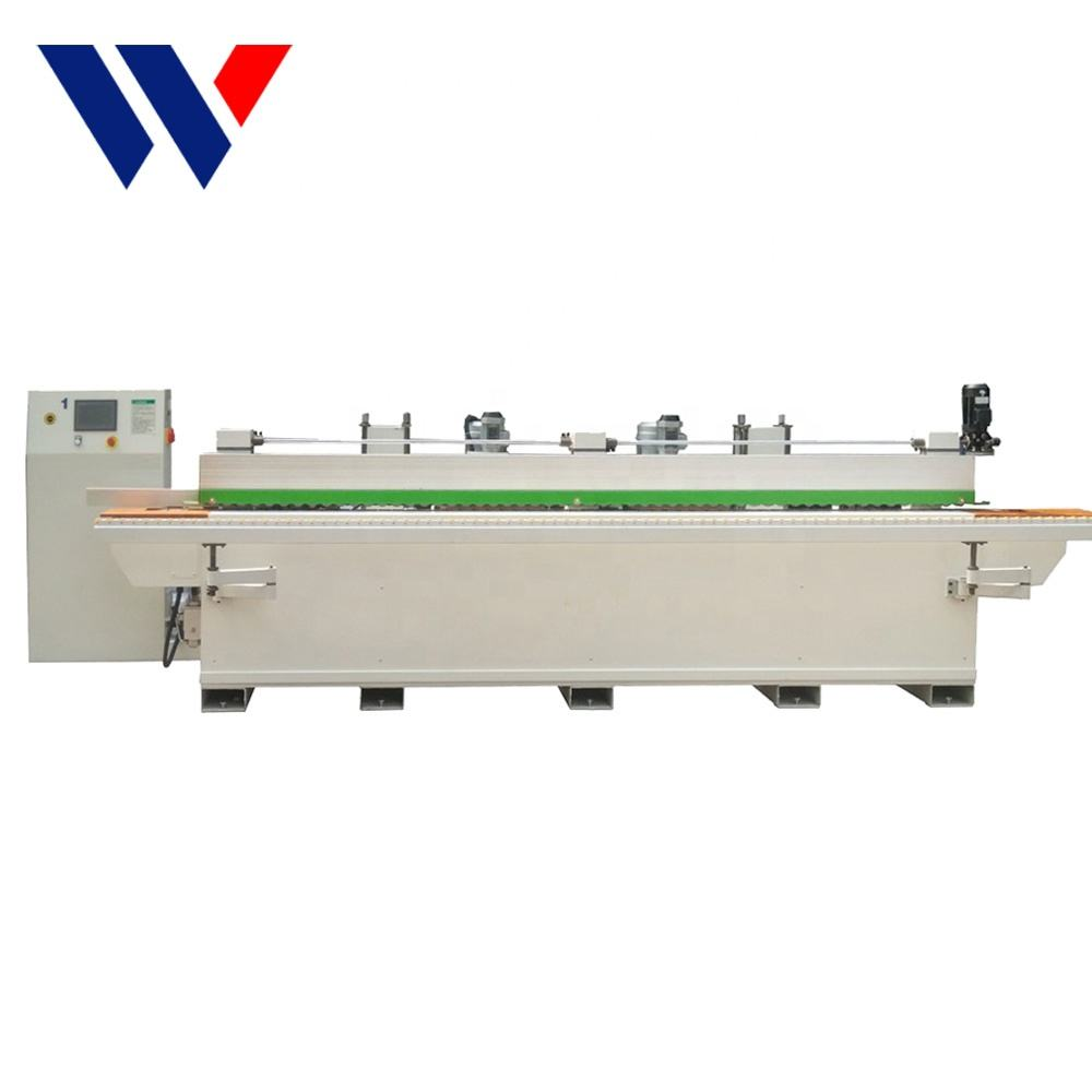 MDF wood angle acrylic double side edge brush sanding polishing machine