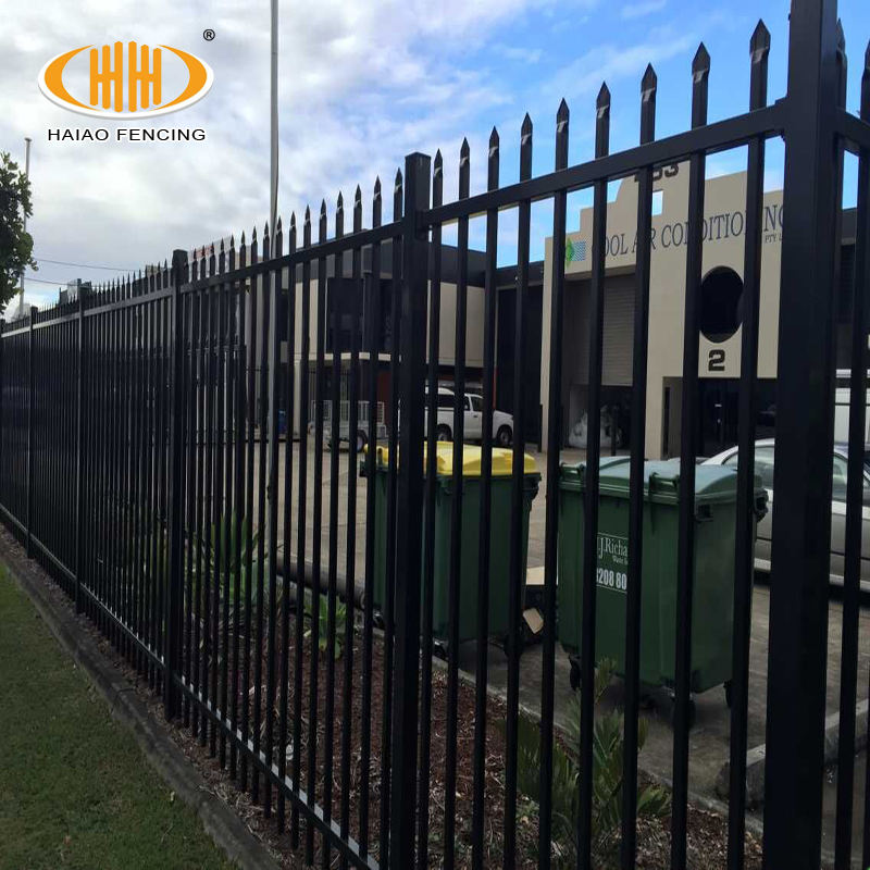 decorative steel fencing, wrought iron picket fence & gate