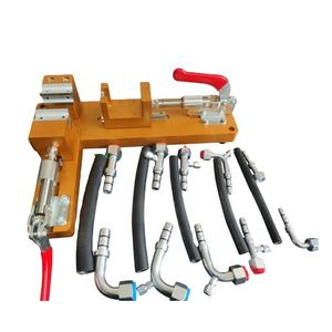 New type casing pipe machine tool for refrigeration hose and fitting