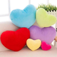 China Factory Eco-friendly 20-60cm Cotton Soft Cuddle Heart Pillow Shaped Cushion