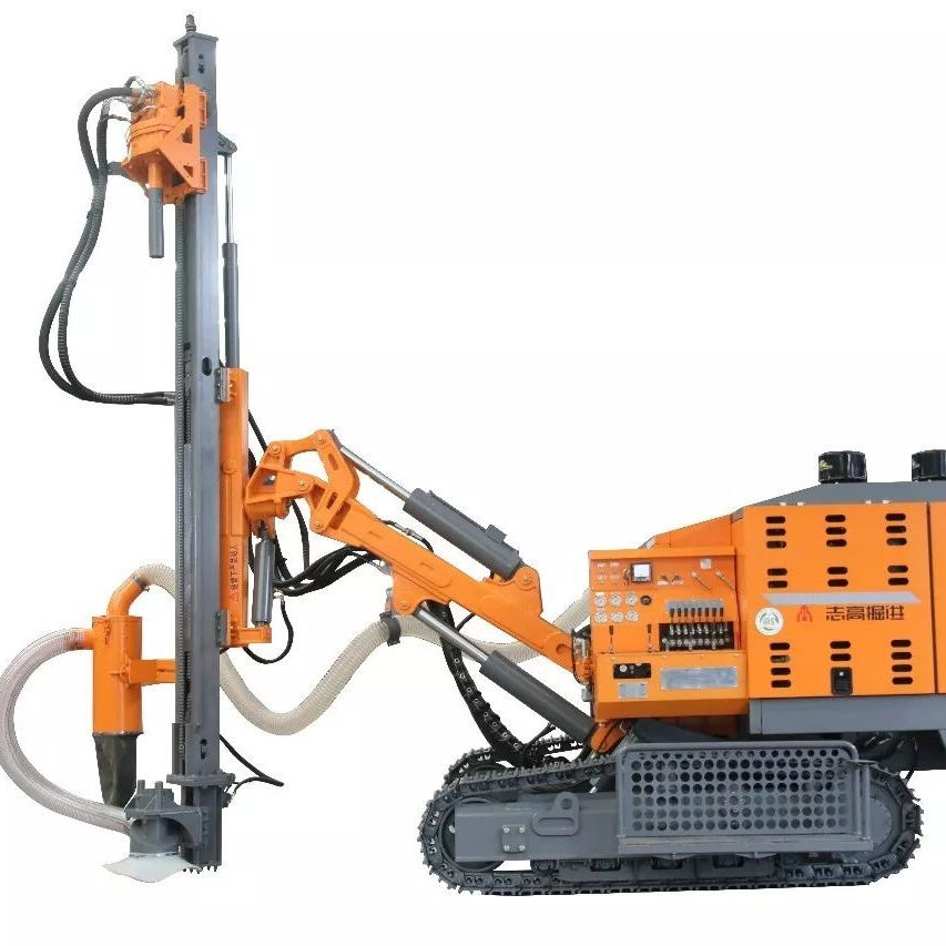 JSDRILL Mobile Integrated 452 DTH Drill Rig For 110-138ミリメートルBlast Hole