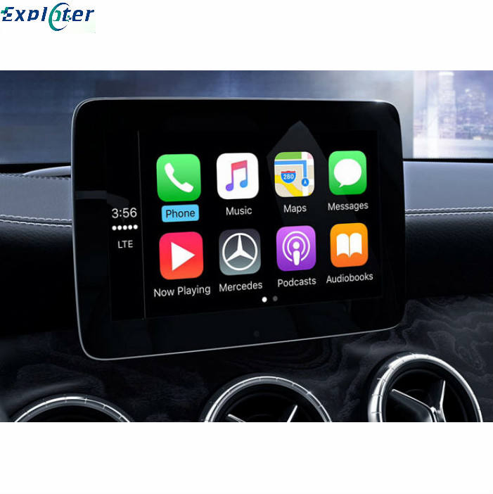 Car OEM Screen Upgrade With AirPlay USB Video Play For BENZ W246 W205 W176 Wireless CarPlay Module Android auto Interface