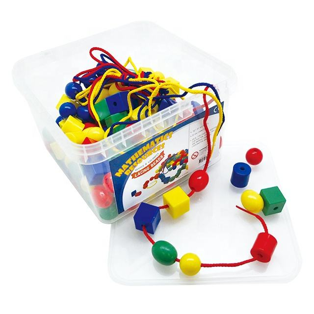 Education toys lacing counter for kid