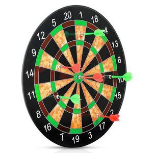 Deporte Objetivo dart/magnético flocado tablero de dardos de doble engrosamiento/con dardos para al aire libre