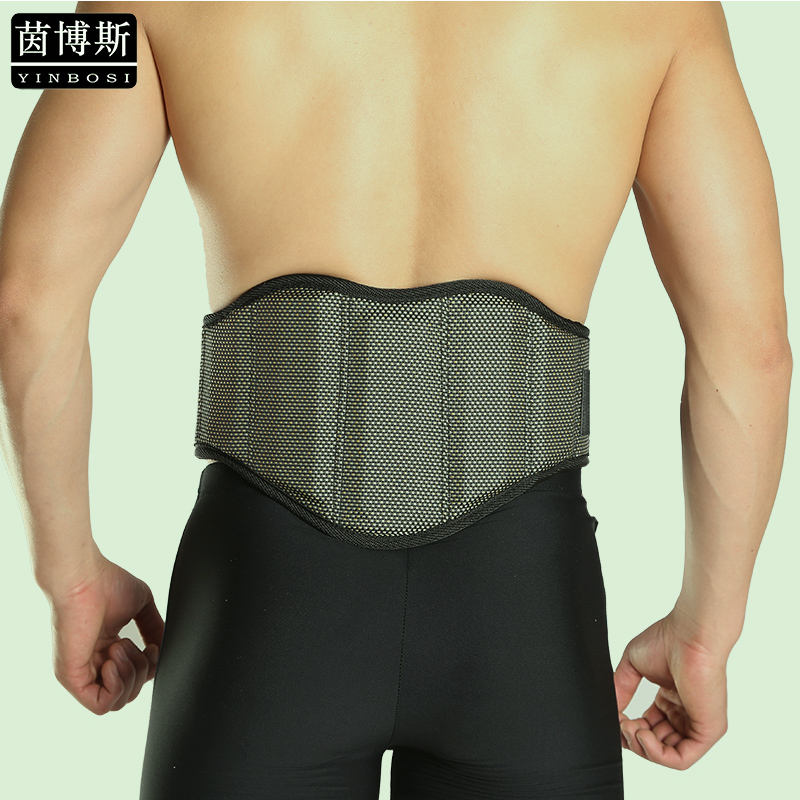 Promotion Back Support Brace Relief Lower Back Pain Breathable Lumbar Support With Pad