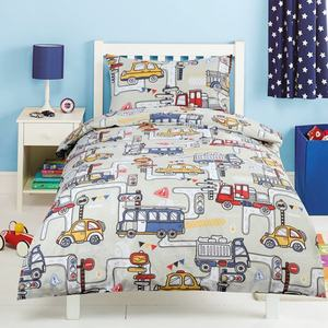 Wuxi Textile Supplier Cartoon Pattern Printed Bedding Set Duvet Cover For Kids