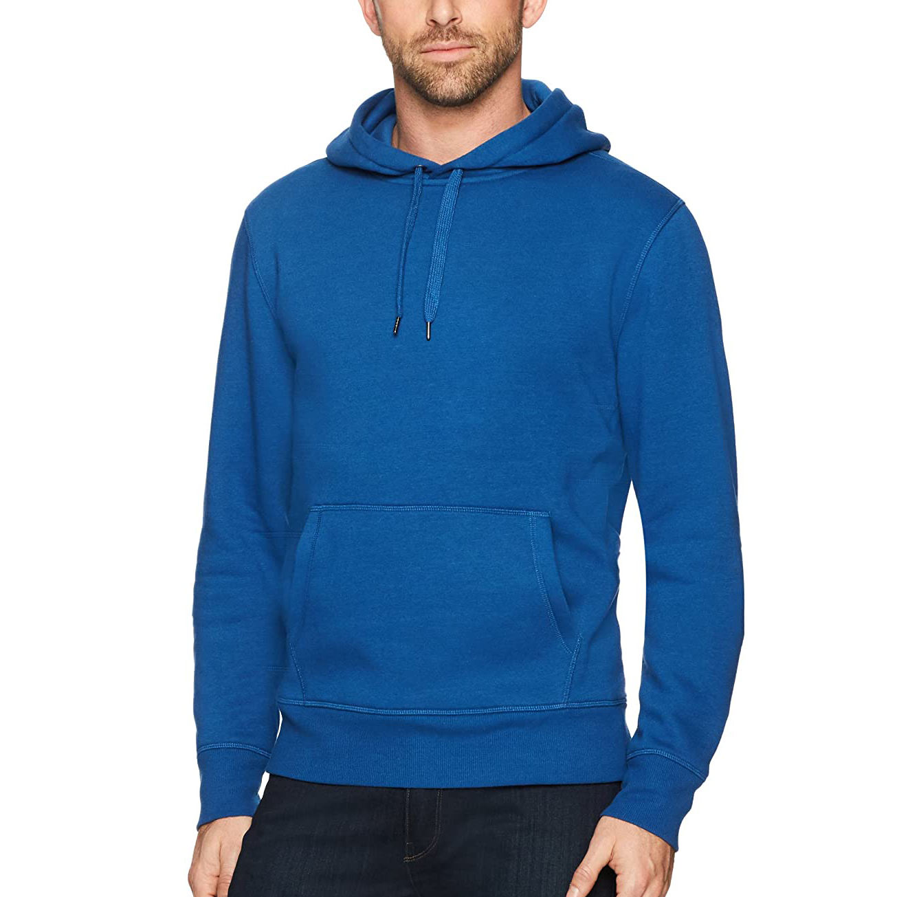 100 cotton hoodies with custom logo design services solid color embroidered logo plain essentials men's standard hooded