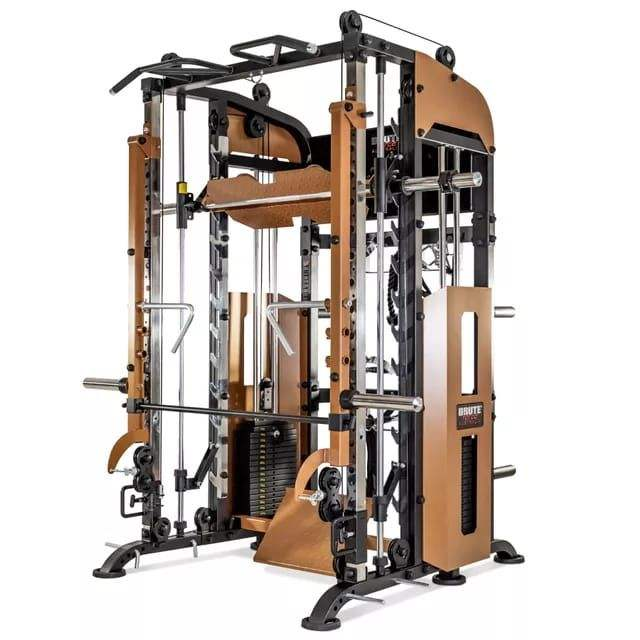 Indoor use gym equipment New Jammer Arm System Squat Rack with smith machine