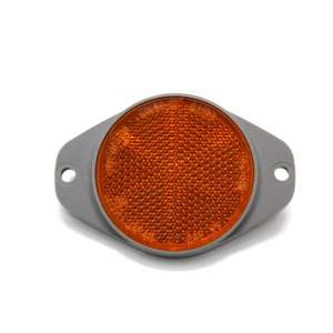 Safety reflector,reflex reflectors with 2 screw holes for trailer or truck