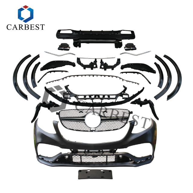 High Quality Body Kit for GLE-Class W166 2015-2018 upgrade to GLE63 AMG