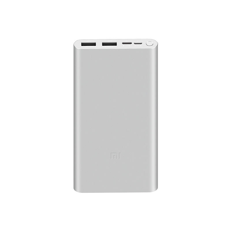 10000mAh Xiaomi Mi Power Bank 3 External Battery Bank 18W Quick Charge Powerbank 10000 with USB Type C for Mobile Phone