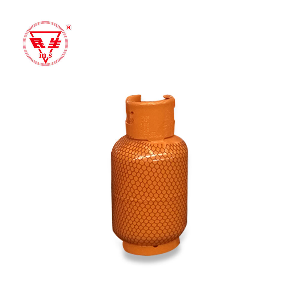 Minsheng factory supply 12.5kg/25lbs lpg gas cylinder for cooking in haiti