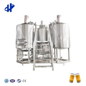 500L beer mashing tanks and fermenters in beer bar and pubs