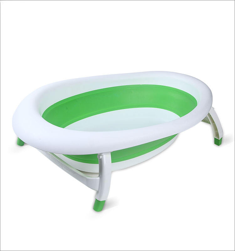 Amazon promotion new design and various usage baby folding bathtub widely