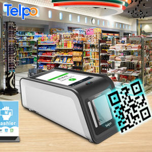 cost-effective Telpo programmable point of sale wireless wifi qr code reader barcode scanner for retail store