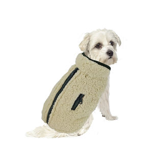 High quality pet fleece winter clothes dog wool jackets