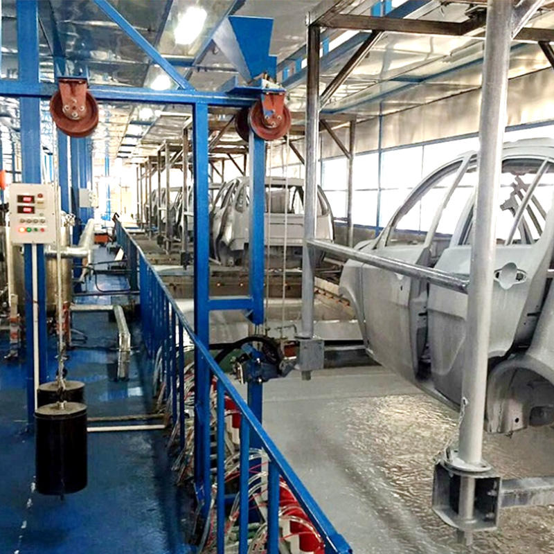New Car Automobile Assembly Painting Production Line from Jintong Equipment