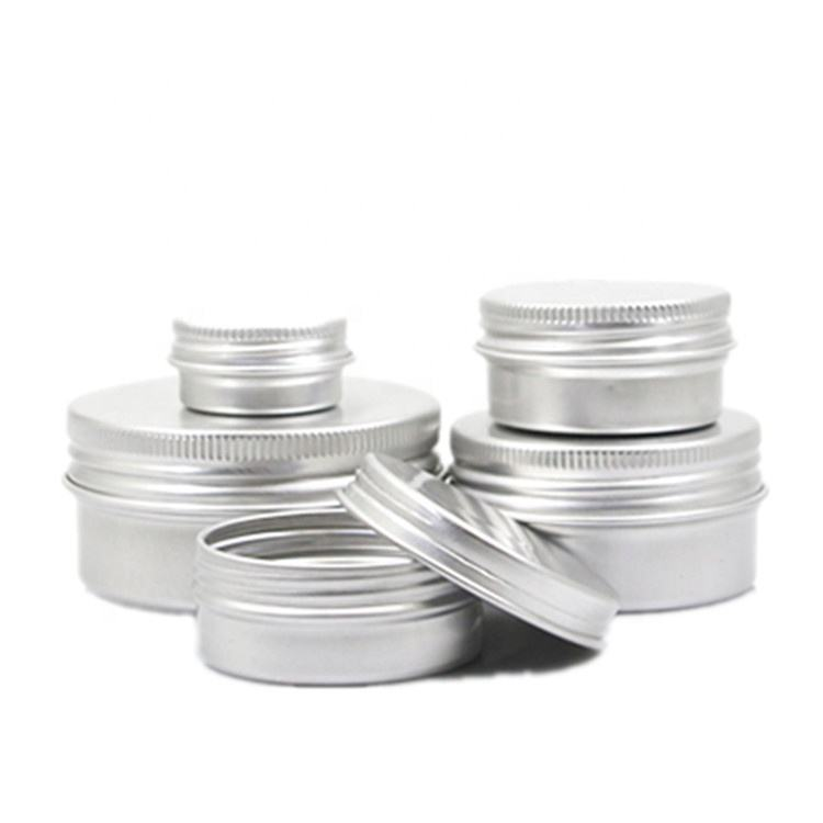 Best price 1oz 2oz 4oz 8oz 2 piece aluminum can tin 4oz round aluminum tin can