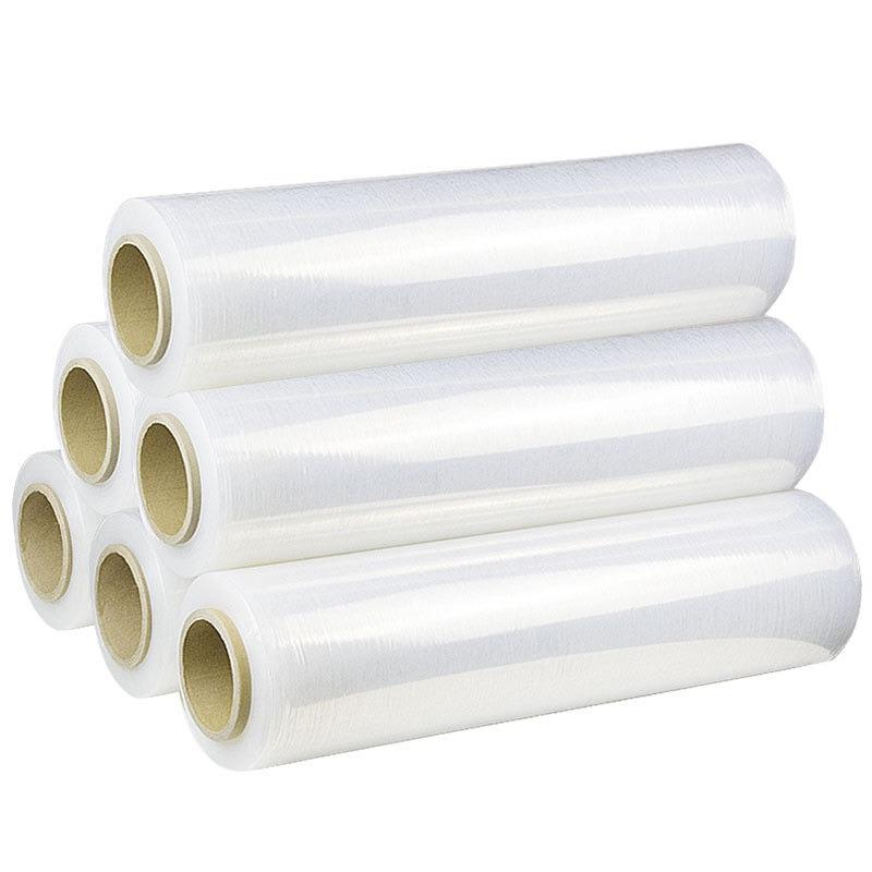 Waterdicht Pallet Stretch Film Pvc Cling Film Transparante Krimpfolie Stretch Lldpe Pallet Stretch Film