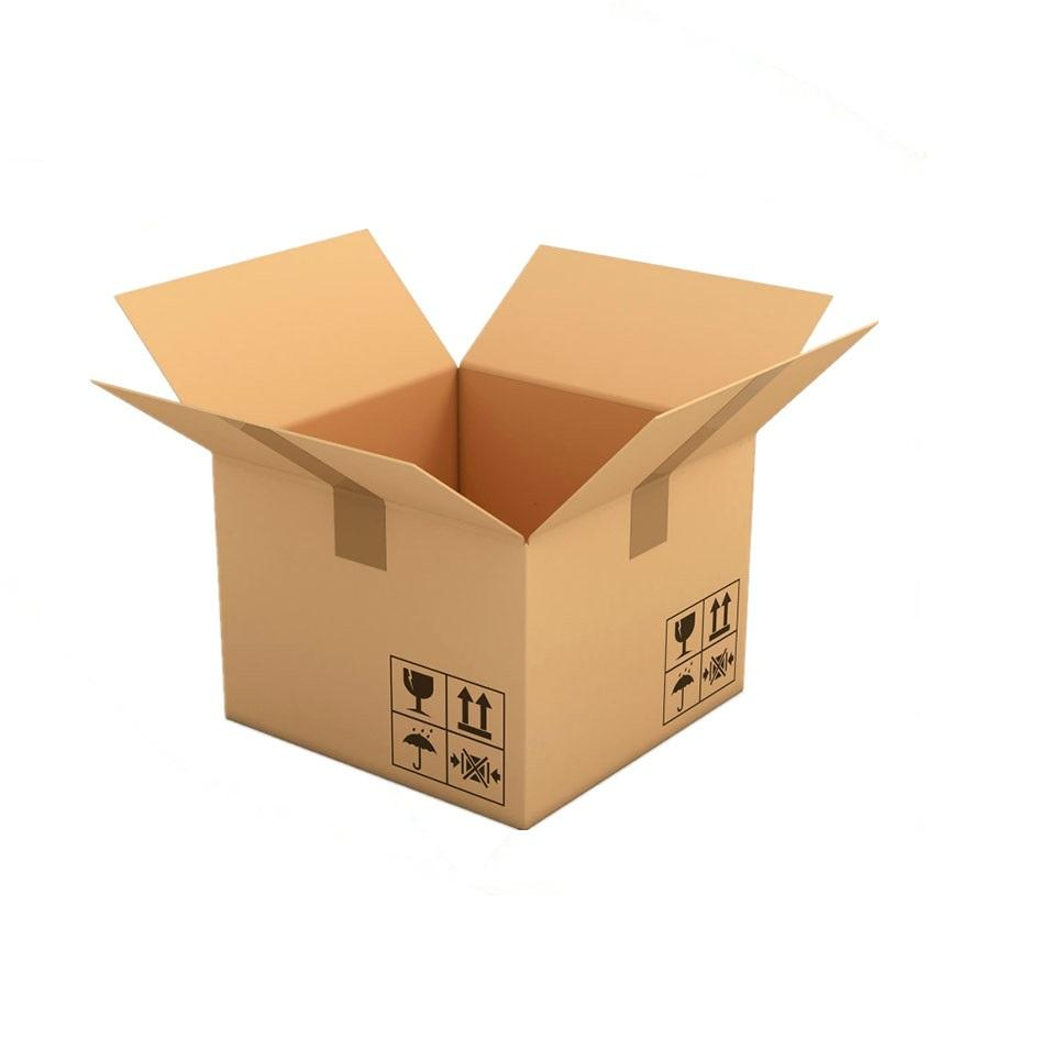 Wholesale standard size 3 ply 5 ply corrugated cardboard carton packing box with custom print