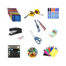 Office Tool Stationery Set ,Great bundle includes several essentials Office/School supplies,marker pen sticky note calculator