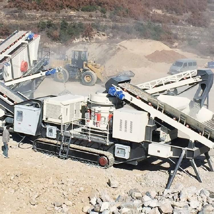 mobile stone crusher price tracked mobile cone crusher