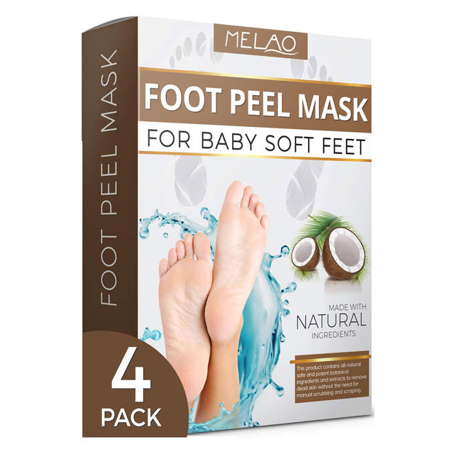 Private Label Best Effective Organic Natural Hydrating Nourishing Moisturizing Peeling Exfoliating Beauty Foot Mask