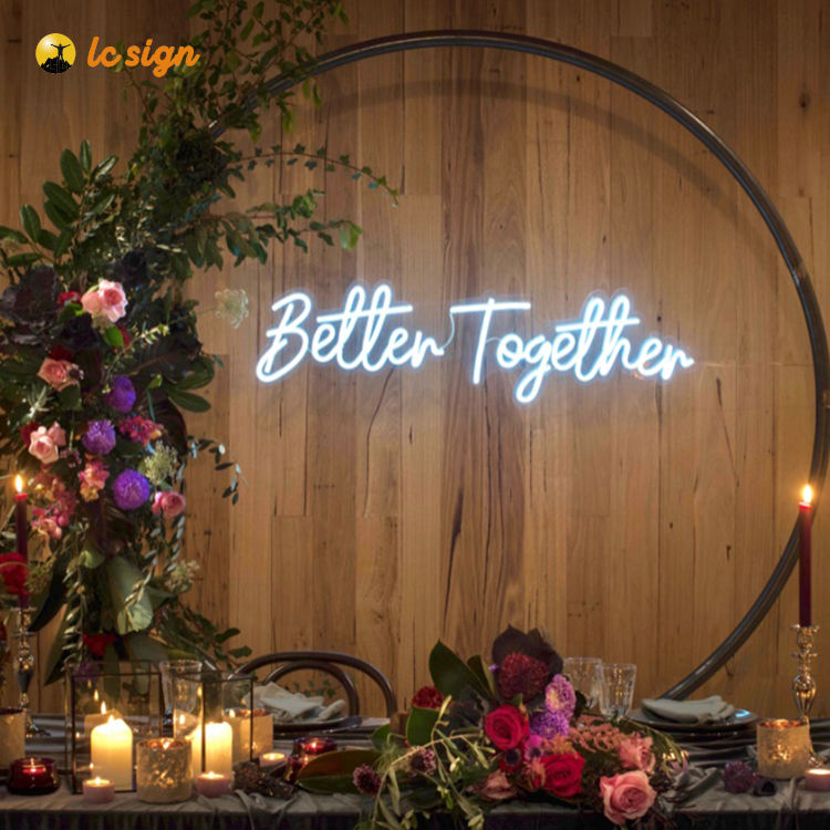 Sign For Business High Quality Custom Soft Led Neon Wholesale Led Flexi Neon Sign For Wedding