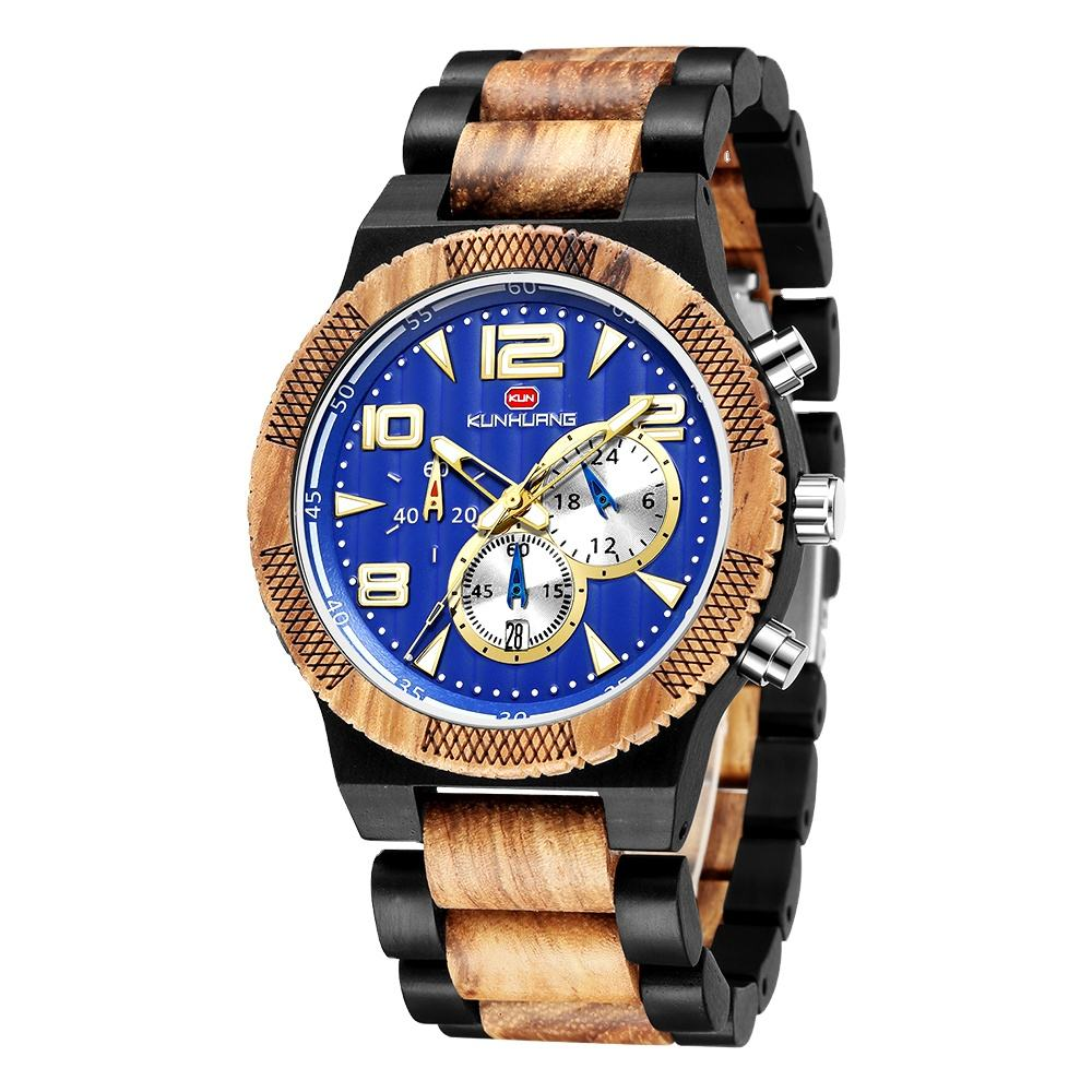 In Stock Wristwatch! Make Your Own Brand Fashion Sports Wood Watch Men Wrist Custom Logo Wooden Watches Reloj