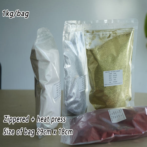 Eco-friendly Holographic Glitter Powder for Gifts & Crafts 1kg packing by PET bags
