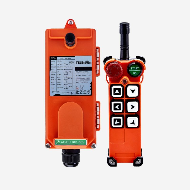 Telecontrol F21-E1 industrial crane wireless radio remote control