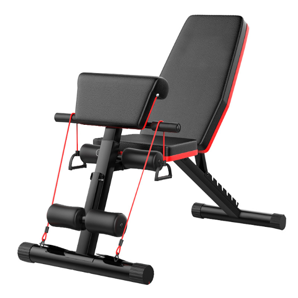 2020 best selling Foldable Strength Training Fitness Equipment Bench Press Barbell Bed Squat Rack Gym Weight Lifting Bench