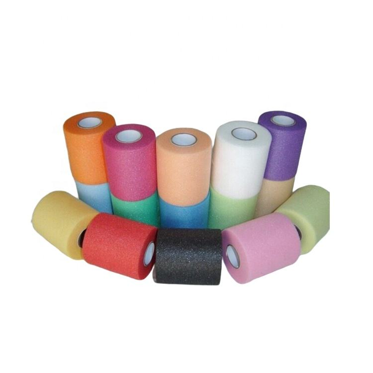 2019 More Color Choose Tape Under wrap Skin Protect Pre Wrap Tape Foam Bandage In Stock