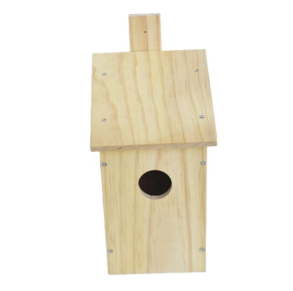 Free Standing Feeding Table Station Bird House Wooden Bird Table Garden Birds Feeder Feeding Station