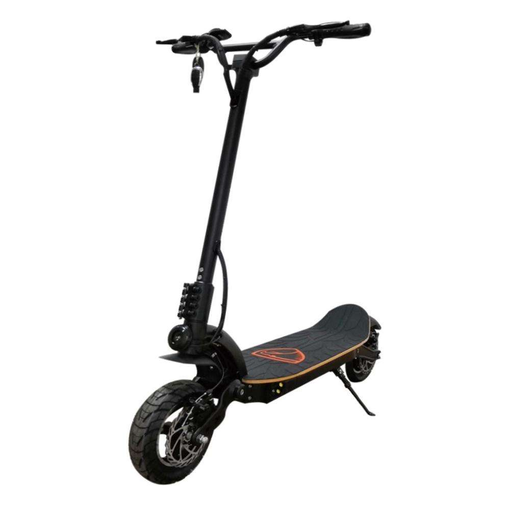 Both F/R brake system + E-ABS Foldable sporty scooter adult electric moped