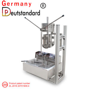 Best Selling Spaanse Churros Maker Making Machine En Elektrische Friteuse Maquina De Churros