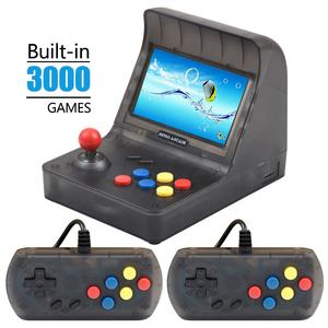 Juego de Arcade Retro 4,3 pulgadas Mini doble GamePad con cable consola Arcade Retro