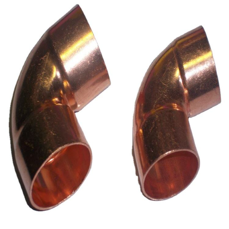 90 Degree Copper Elbow and Copper Tee