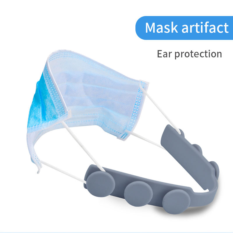 Reusable Elastic Ear Decompressed Band Silicone Ear Protection Regulator Silicone Mask Elastic Anti-strap