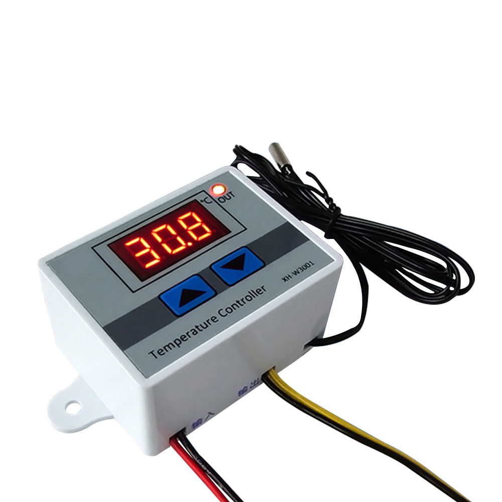 Digital temperature controller XH-W3001 อัจฉริยะ thermostat Regulator สวิตช์ DC 12V 24V AC 110-220V