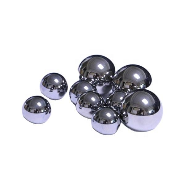 0.5mm to 76.2mm high quality chrome steel bearing ball
