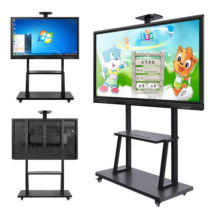 55 65 75 86 polegadas tela plana interativa multi touch screen digital interativa smart board