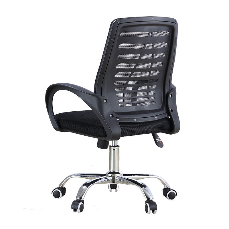 360 Degree Rotation Modern Design Cheap New Arrival Adjustable Medium Mesh Fabric Back Revolving Swivel Task Office Chair