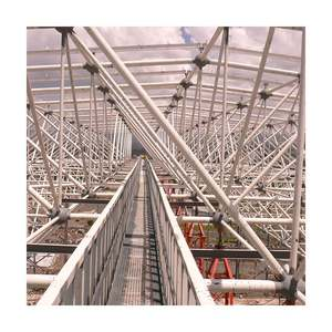 Good Supplier aircraft hangar space frame roof steel hangar warehouse structure