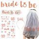 Wholesale Bride To Be Bachelorette Sashes for Hen Party bridal shower decorations