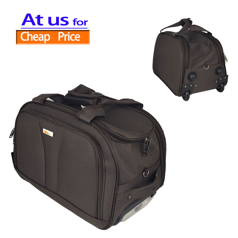 20 Inch Carry On Travel Luggage Bags Airline Boarding Wholesale Custom 19 Inch Wheeled Duffel Bag